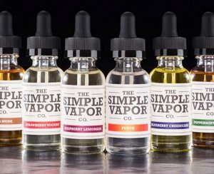 E-juice labels.
